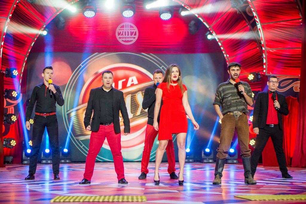 """""""VIP Тернопіль"""" у Франківську святкував п'ятиріччя """"Ліги сміху"""" (відеофакт)"""